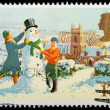 Christmas Postage Stamp — Stock Photo #7456733