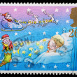 Christmas Postage Stamp — Stockfoto