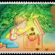 Christmas Postage Stamp — Stock Photo #7456749