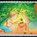 Christmas Postage Stamp — Stock Photo #7456749