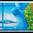 Christmas Postage Stamp — Stock Photo #7456757