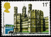 British Historic Buidlings Postage Stamp — Stock Photo