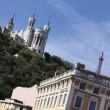 Fourviere cathedral — Stock Photo
