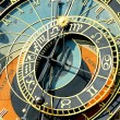 Zodiacal clock in Prague — Stock Photo