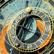 Zodiacal clock in Prague — Stock Photo #7001834