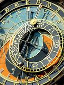 Zodiacal clock in Prague — Stock Photo