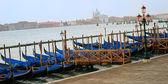 Gôndola em veneza — Foto Stock
