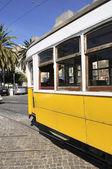 Tram di lisbona — Foto Stock