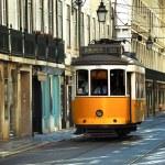 Lisbon Tram — Stock Photo #7299008