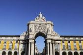 拱的奥古斯塔在里斯本 — 图库照片