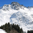 Stock Photo: Winter alps