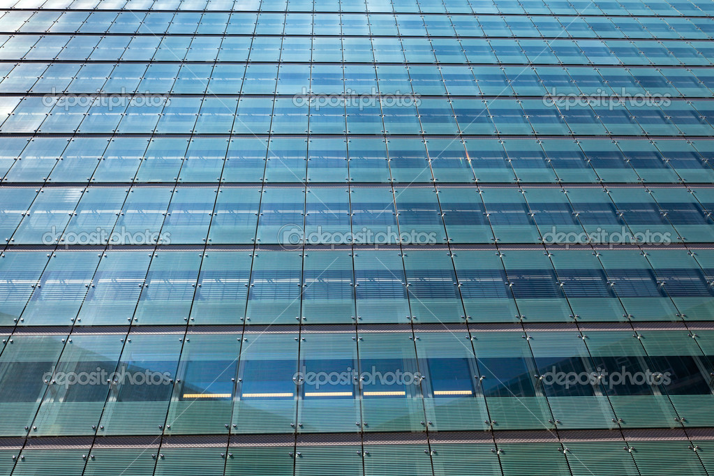 Glass modern office building. Horizontal background  Stock Photo #7236591