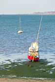 Ebb in Western Brittany — Stock Photo