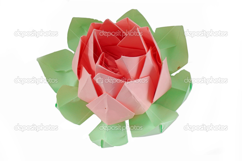 origami fleur de lotus photographie aluha123 6799089. Black Bedroom Furniture Sets. Home Design Ideas