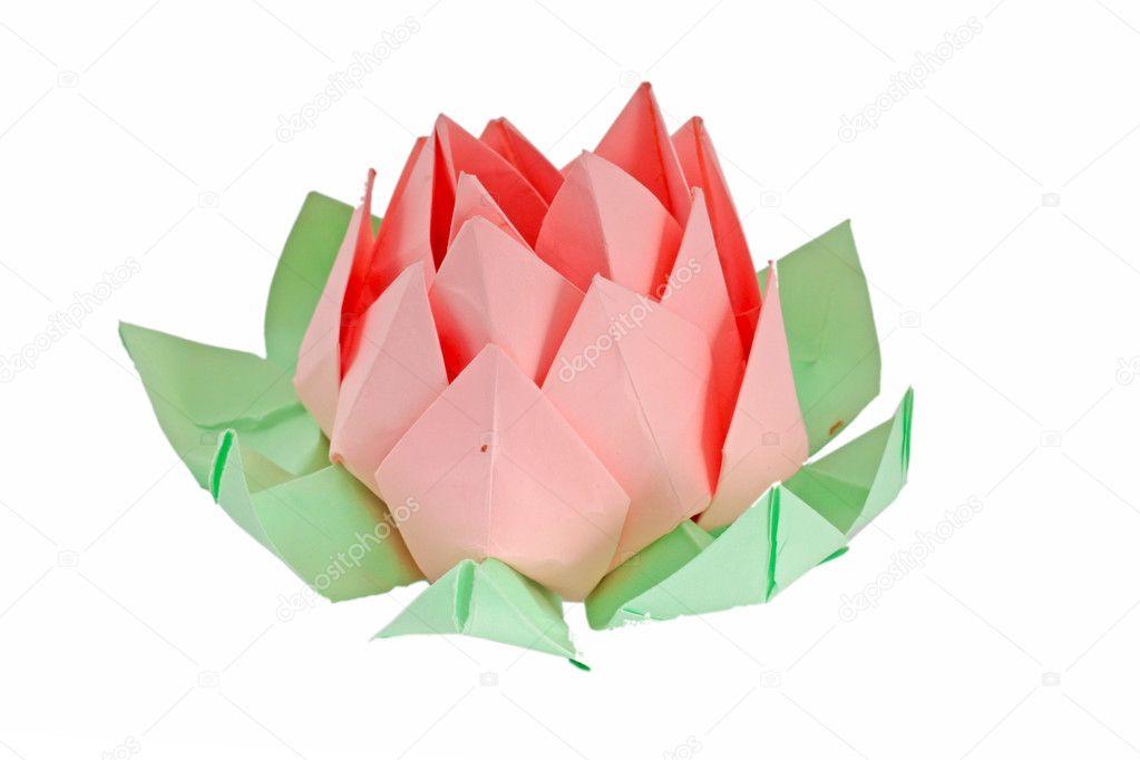 origami fleur de lotus photographie aluha123 6799092. Black Bedroom Furniture Sets. Home Design Ideas