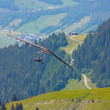 Hang gliding in Swiss Alps — Stock Photo #6819285