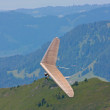 Hang gliding in Swiss Alps — Stock Photo #6819313