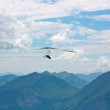 Hang gliding in Swiss Alps — Stock Photo #6819496