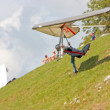 Hang gliding in Slovenia — Stock Photo #6825252