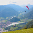 Hang gliding in Slovenia — Stock Photo #6830383