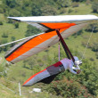 Stock Photo: Hang gliding in Slovenia