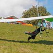Hang gliding in Slovenia — Stock Photo #6830500