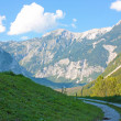 Beautiful landcape of the alps — Stock Photo