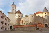 View of old Palanok Castle — Stock Photo