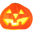 Halloween pumpkin isolated — Stock Photo