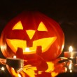 Halloween pumpkin isolated — Foto de Stock