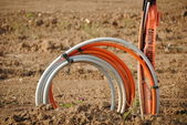 Underground Electrical Cables — Stock Photo