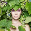 Royalty-Free Stock Photo: Grape goddess