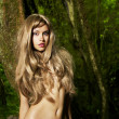Beautiful lady in the rainforest — Stock Photo #7911369