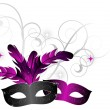 Royalty-Free Stock Vector Image: Carnival masks