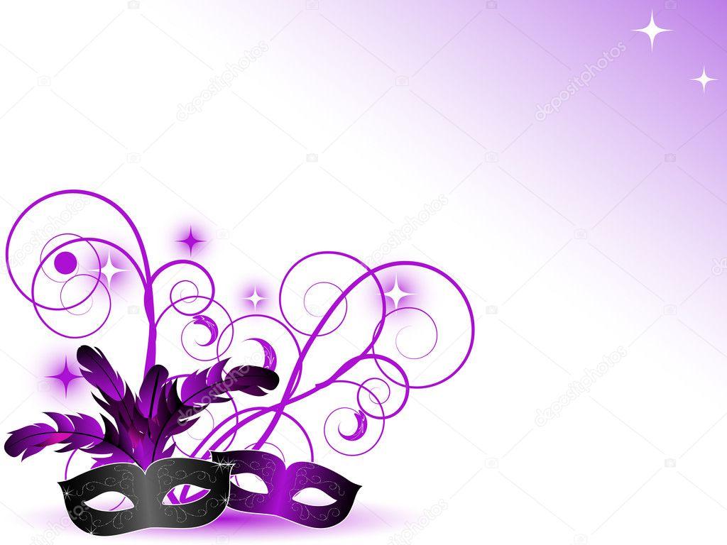 Carnival masks — Stock Vector © sarininka #7118102