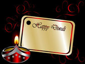 Diwali lamba — Stok Vektör