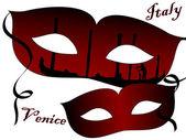 карнавальные маски — Cтоковый вектор