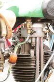 Detail of engine block — Stock Photo