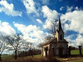 Field chapel — Stock Photo