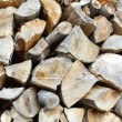 A stack of cut log — Stock Photo