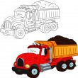 Big truck — Stock Photo #7887252