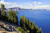 Scenic view of Crater Lake — Stock Photo