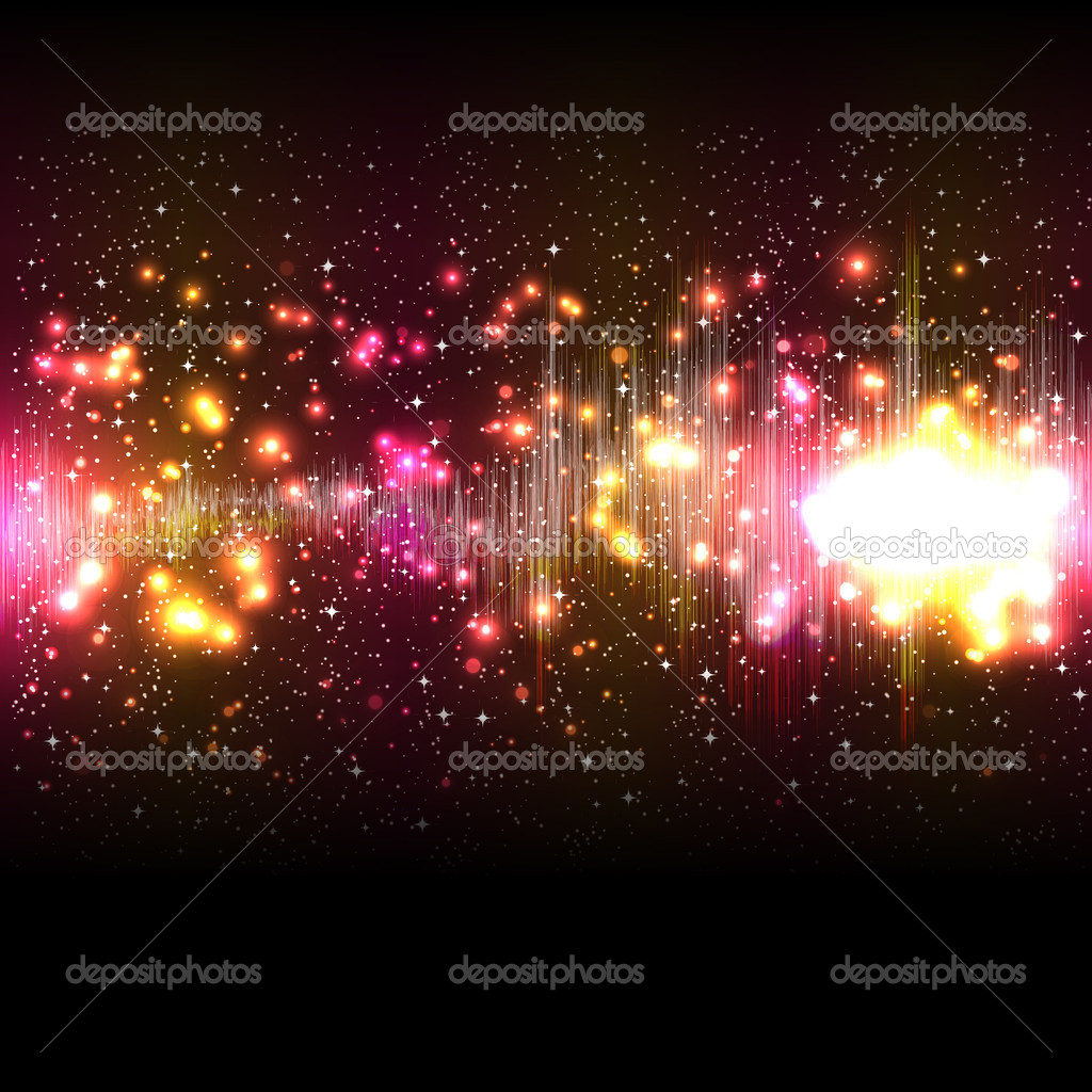 Vector music equalizer wave — Stock Vector #7812212