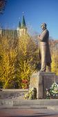 статуя бандеры. — Стоковое фото
