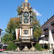 Franz-Karl-Brunnen in Bad Ischl — Stock Photo