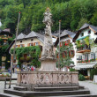 Fontain on Marketplace in Hallstatt — Stok Fotoğraf #7785569
