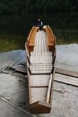 Boat rent at the Toplitzsee — Foto Stock
