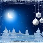 Christmas background vector — Stock Vector #6764975