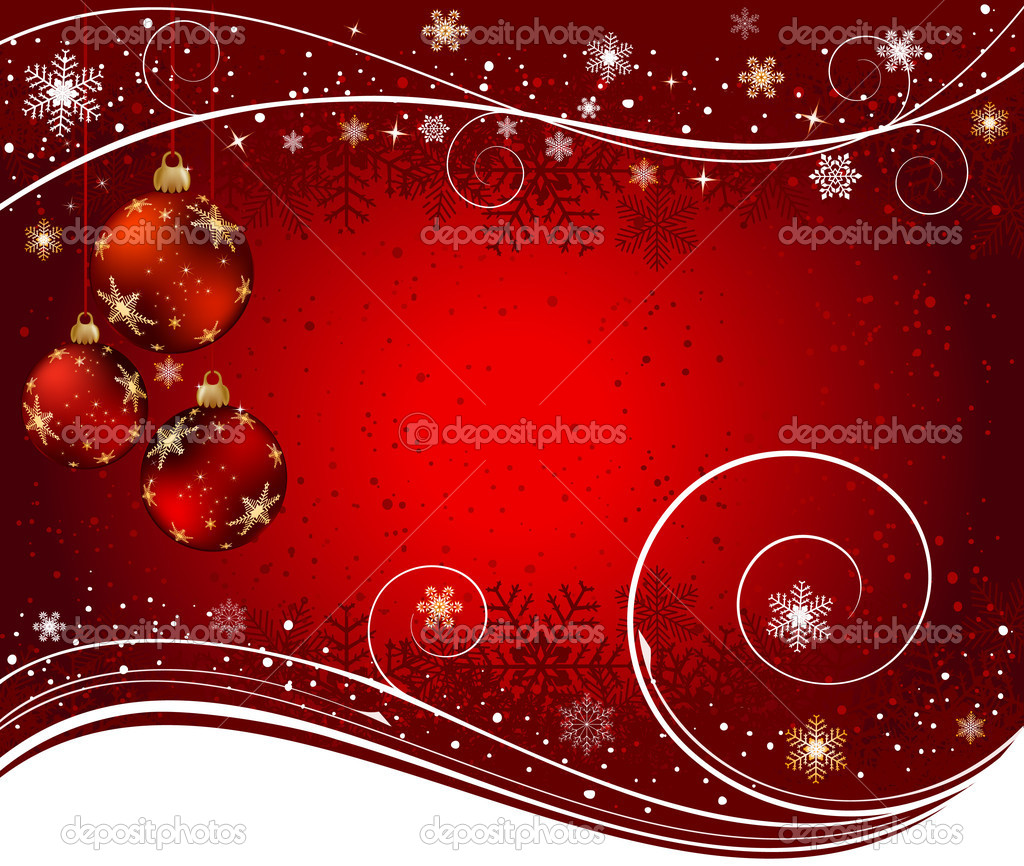 Christmas background  — Stock Vector #6849047