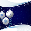 Christmas background vector — Stock vektor